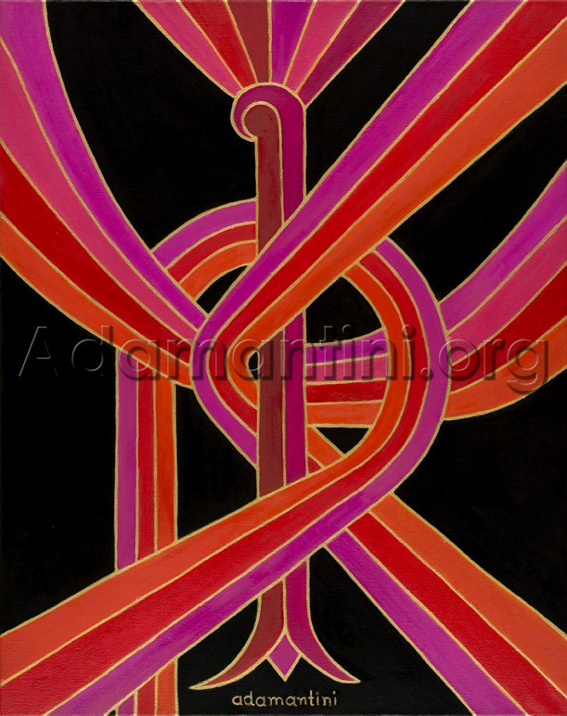 Red phoenix adamantini feng shui fine art applications celestial vermillion bird voltagebd Choice Image