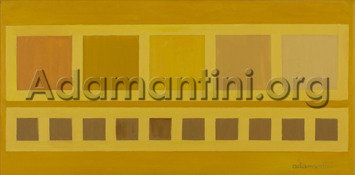 """Oil on Canvas 2014 40 x 80 cm - 15 7/10"""" x 31 5/10"""" inches Artwork number 27"""