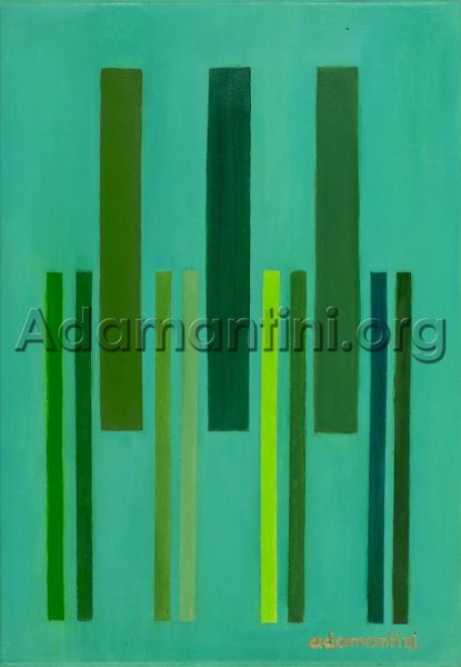 """Oil on Canvas 2014 50 x 35 cm - 19 7/10"""" x 13 8/10"""" inches Artwork number 28"""